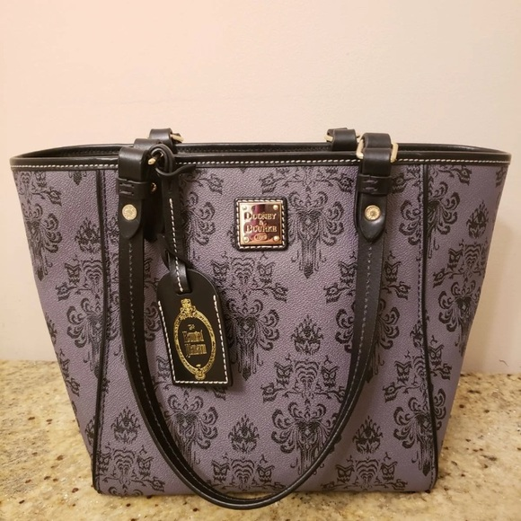 Dooney & Bourke Handbags - Dooney & Burke Disney Haunted Mansion Tote Leather